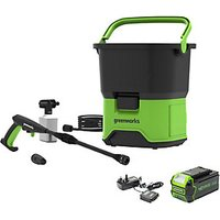 40V Cordless Pressure Washer with 4Ah Battery and Charger