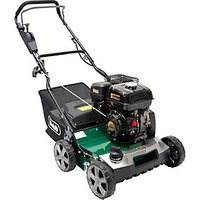Handy 40cm Petrol lawn scarifier with 45 Litre collector