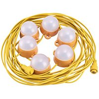 Ambient LightingLED Festoon Kit IP44 110v 12 Metre 30W