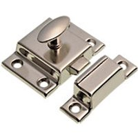 Wickes Cupboard Catch Nickel Plated 54mm