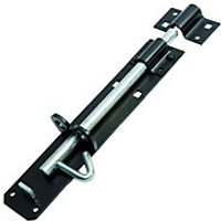 Wickes Brenton Bolt Black 203mm