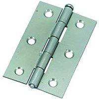 Wickes Loose Pin Butt Hinge Zinc Plated 76mm 2 Pack