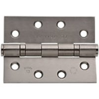 Wickes Grade 13 Ball Bearing Hinge Stainless Steel 102mm 2 Pack