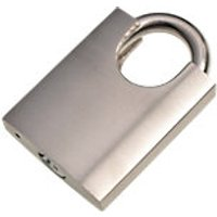 Wickes Padlock - Stainless Steel 50mm