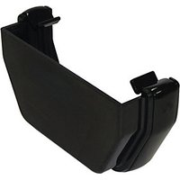 Click to view product details and reviews for Floplast Res1b Square Line Gutter External Stopend Black.