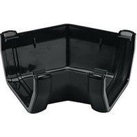 Click to view product details and reviews for Floplast Ras2b Square Line Gutter 135 Deg Angle Black.