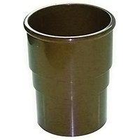 Click to view product details and reviews for Floplast Rsm1br Miniflo 50mm Round Downpipe Socket Brown.