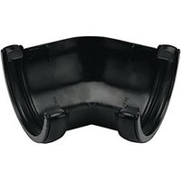 Click to view product details and reviews for Floplast Ra2b Round Line Gutter 135 Deg Angle Black.