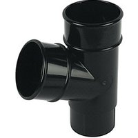Click to view product details and reviews for Floplast Ry1b Round Line Downpipe 675 Deg Branch Black 68mm.