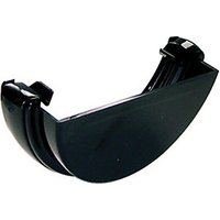 Click to view product details and reviews for Floplast Re1b Round Line Gutter External Stopend Black.