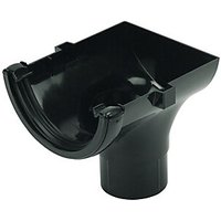 Click to view product details and reviews for Floplast Ro2b Round Line Gutter Stopend Outlet Black.
