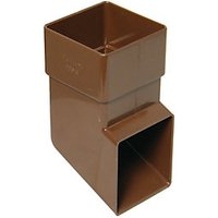 Click to view product details and reviews for Floplast Rbs3br Square Line Downpipe Shoe Brown 65mm.