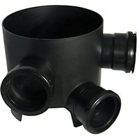 Wickes 230 mm Black Drain Shallow Access Chamber Base