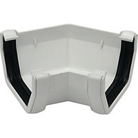 Click to view product details and reviews for Floplast Ras2w Square Line Gutter 135 Deg Angle White.