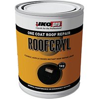 Click to view product details and reviews for Ikopro Roofcryl One Coat Acrylic Based Roof Repair Black 1kg.