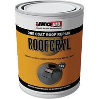 Click to view product details and reviews for Ikopro Roofcryl One Coat Acrylic Based Roof Repair Grey 1kg.