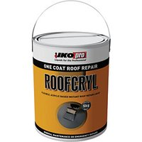 Click to view product details and reviews for Ikopro Roofcryl One Coat Acrylic Based Roof Repair Grey 5kg.
