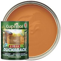 Cuprinol 5 Year Ducksback - Autumn Gold 5L