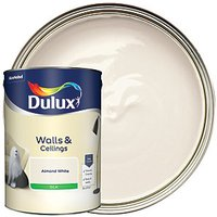 Dulux Natural Hints Silk Emulsion Paint - Almond White 5L