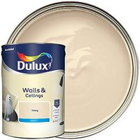 Dulux Matt Emulsion Paint - Ivory 5L