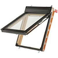 Keylite Means of Escape Roof Window Top Hung Pine Clear 780mm X 980mm