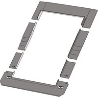 Keylite Roof Window Slate Flashing - 1140 x 1180mm