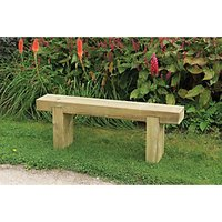 Forest Garden Sleeper Bench 1.2m