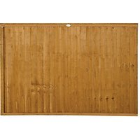 Forest Garden Dip Treated Closeboard Fence Panel - 6 x 4ft Pack Pack of 3