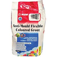 Mapei AntiMould Flexible Coloured Tile Grout Ivory 5kg