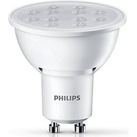 Philips LED Non dimmable GU10 Light Bulbs   5W Pack of 3