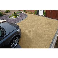 Marshalls Driveline Priora Block Paving - Buff 200 x 100 x 60mm Pack of 404