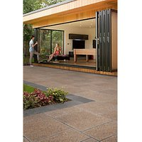 Marshalls Granite Eclipse Textured Terra Paving Slab Mixed Size - 17.9m2 pack