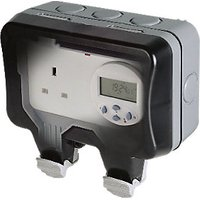 Masterplug IP66 13A Switched Timer Socket WP23TM24