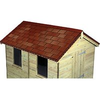 WICKES MULTI-TONE RED ROOFING SHINGLES 2M2 PACK 14