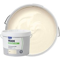 Wickes Contract Silk Emulsion Paint - Ivory 10L