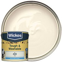 Wickes Colour @ Home Durable Matt Emulsion Paint - Ivory 2.5L