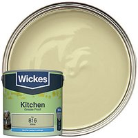 Wickes Colour @ Home Kitchen Matt Emulsion Paint - Willow 2.5L