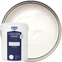 Wickes Colour @ Home Coarse Textured Ceiling Emulsion Paint - Brilliant White 5L
