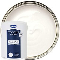 Wickes Colour @ Home Pink to White Emulsion Paint - 5L