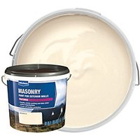 Wickes Textured Masonry Paint - Magnolia 5L