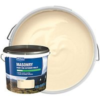 Wickes Smooth Masonry Paint - Soft Sand 5L