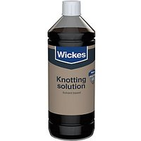Wickes Knotting Solution - 250ml