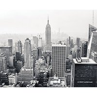 ohpopsi Empire State Wall Mural Grey - 14.4m (L)