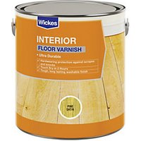 Wickes Floor Varnish - Natural Oak 2.5L