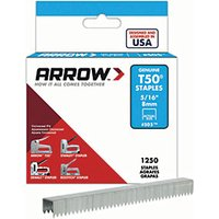 Arrow Staples 50524/ T50 5/16in - 8mm