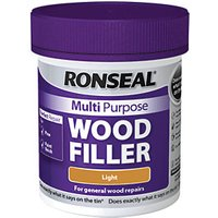 Ronseal Multi Purpose Wood Filler Light 250g