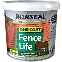 Ronseal One Coat Fencelife Medium Oak 9L