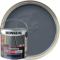 Ronseal Rescue Decking Paint - Deep Blue 2.5L