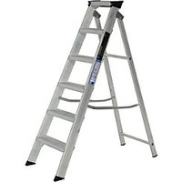 Youngman 6 Tread Industrial Builders Step Ladder