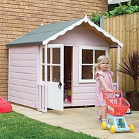 Shire 5 x 4 ft Kitty Wooden Playhouse with Acrylic Safety Glazing